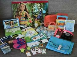American Girl Lea Clark Girl of the Year 2016 DOLL with a TON of EXTRAS + book EUC