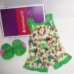 American Girl Lea Clark Plus Pajamas Set Doll Of The Year 18 New Boxes