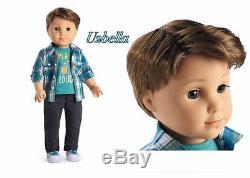 American Girl Logan Everett First Boy doll BFF Tenney NEW IN BOX
