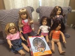 American Girl Lot Of 5 EUC Set Plus Clothes Puzzle