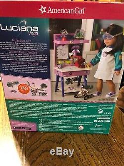 American Girl Luciana's Maker Station NIB NRFB RETIRED