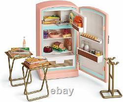 American Girl Maryellen's Fridge Refrigerator NEW! Food Treats Ice Cream