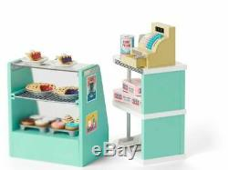 American Girl Maryellen's Seaside Diner Bakery Case NEW