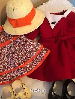 American Girl Meet Ruthie Doll Kit Lot Collection 1934 Dresses Discontinued Rare