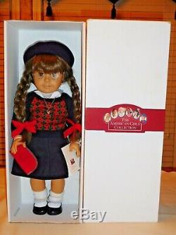 American Girl Molly White Body Doll Signed Pleasant Roland 1987 + Lot