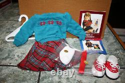 American Girl Mollys Sweater & Skirt Outfit NEW NIB