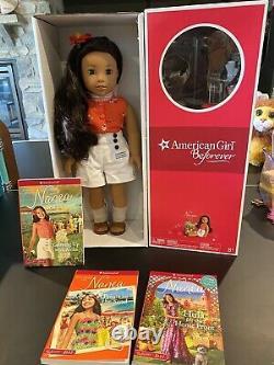 American Girl Nanea Doll NIB New In Box With Extra Books