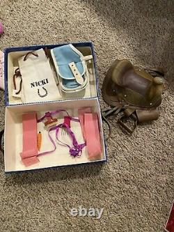 American Girl Nicki doll with box and Accessories Lot Girl of the Year 2007