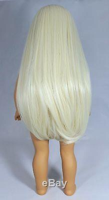 American Girl OOAK JLY/TM Doll Beautifully Custom Unicorn Wig & Grey Eyes
