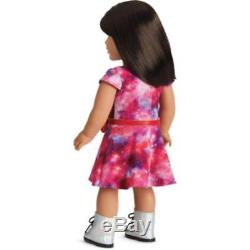 American Girl Of The Year 2018 Luciana Vega Doll & Book Free DHL Express