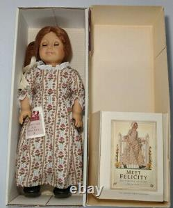 American Girl/ Pc Doll Felicity Signed With Certificate And Accessories Lot New