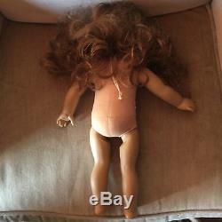 American Girl Pleasant Company Felicity Blonde Lot of 5 Dolls for TLC Repair
