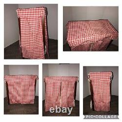 American Girl Pleasant Company Felicity Canopy Bed And Bedding retired