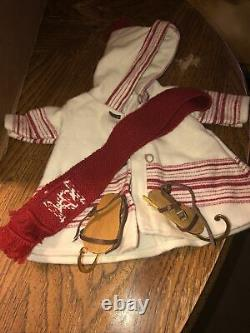 American Girl Pleasant Company Kirsten Limited Edition Skating Outfit Complete