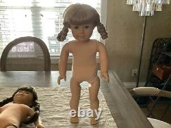 American Girl Pleasant Company Kirsten Tinsel Hair Tan Body GUC