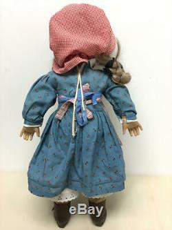American Girl, Pleasant Company Lot Of 6 Dolls (felicity, Josefina, Addy, Kirsten)