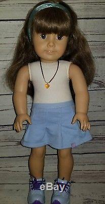 American Girl Pleasant Company Samantha Doll White Body Amber Eye Color Rare