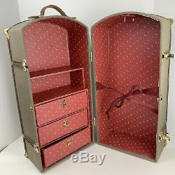 American Girl Pleasant Company Samantha Retired Wardrobe Steamer Trunk Vintage