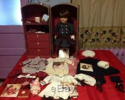 American Girl RETIRED SAMANTHA HUGE Collections Doll, Trunk, Clothes and More