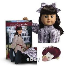 American Girl SAMANTHA DOLL + HAT Purse ACCESSORIES retired INSURED SHIPPING