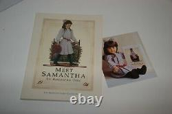 American Girl SAMANTHA doll SIGNED- NEW in Box-1986 White Body -Pleasant Company