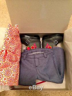 American Girl Saige Starter Collection Girl of the Year 2013 NIB complete set