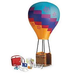 American Girl Saige's Hot Air Balloon Set Girl of the Year NIB Sage Retired