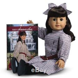 American Girl Samantha Doll and Book RETIRED Fast Same Day Shipping