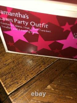 American Girl Samantha Lawn Party Outfit NIB NRFB RETIRED Complete