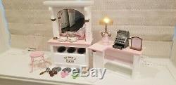 American Girl Samantha's Tyson's Ice Cream Parlor Retired Rare-Complete and Mint