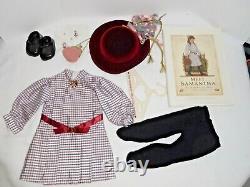 American Girl Signed White Body Samantha Doll Coa Book Box Pleasant Co Great