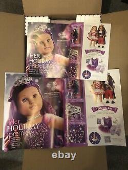 American Girl Sugar Plum Fairy Doll Limited Edition