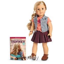 American Girl TENNEY Grant DOLL & Book New NIB 18 Tenny Guitar Player