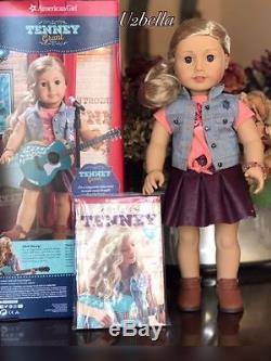 American Girl Tenney Grant Doll AND Logan Boy Doll TWO DOLLS Tenny New IN BOX