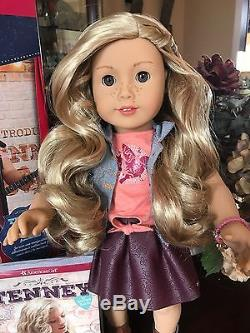 American Girl Doll Tenney /& Accessories Guitar /& Spotlight Outfit Tenny NEW