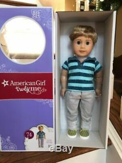American Girl Truly Me 74 Boy Doll Blonde GREAT FRIEND FOR LOGAN NEW IN BOX