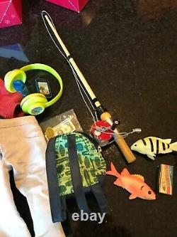 American Girl Truly Me Boy Doll #75 With Extra Outfits Excellent