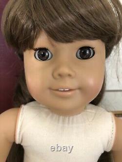 American Girl White Body Samantha Doll Pleasant Company Meet Accessories + Box