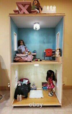 American Girl Wooden Doll House Life Size