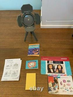 American Girl Z Yang Desk with Chair Playset Excellent Used Condition