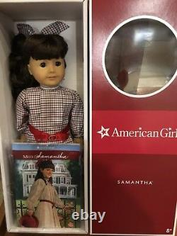 American Girl doll Samantha Parkington With Book, NEW in the box