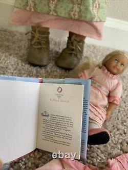American Girl of the Year Caroline, plus mini doll and original clothes
