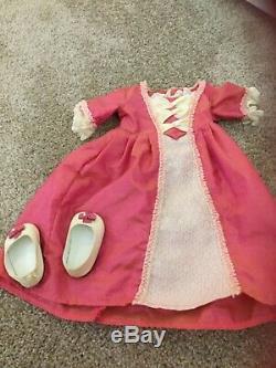 American girl 18 inch Doll lot retired Elizabeth + Marie Grace +Truly Me 27 USED