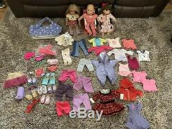 American girl Izabella doll lot Two Baby And More Accessories, Clothing