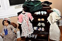 American girl doll Felicity Huge lot RARE, VINTAGE 90's Original Owner HUGE LOT