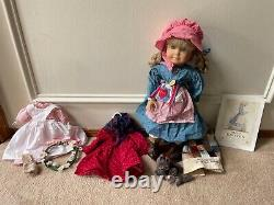American girl doll kirsten pleasant company with extra accessories