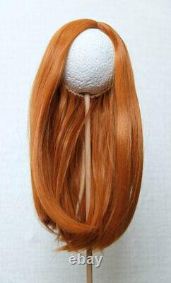 American girl doll wig NEW # 4 Brown head size 10-11 with thick hair