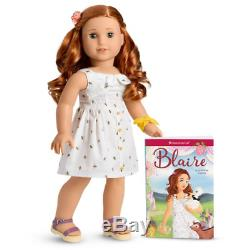 Authentic American Girl BLAIRE Wilson 18 Doll of Year 2019 COMPLETE + Bonus