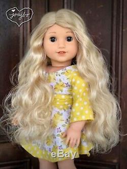 BEAUTIFUL Custom American Girl Doll BLAIRE Caroline BROWN eyes OOAK jodybo