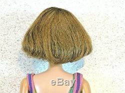 Barbie VINTAGE Brownette BEND LEG Long Hair AMERICAN GIRL BARBIE Doll